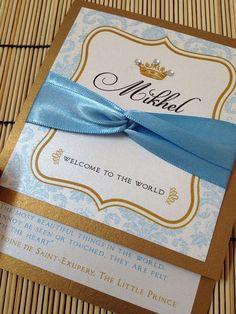 Little prince baby shower invitation printable baby shower new to anaderoux on etsy prince baby shower invitations deposit usd filmwisefo