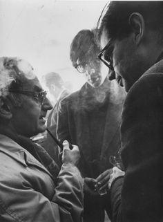 Man Ray, Peter Orlovsky and Allen Ginsberg.