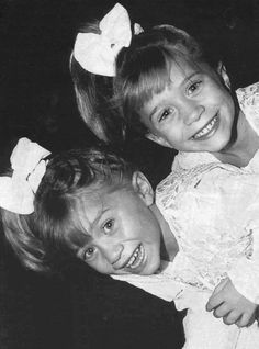 """The Olsen Twins...the younger (better) years...""""Olsen and Olsen Detective Agency, we'll solve any crime by dinner time!"""""""