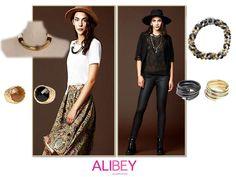 Looks Alibey para este otoño-invierno!!  #collares #anillos #pulseras #accesorios #tendencia #invierno #complementos