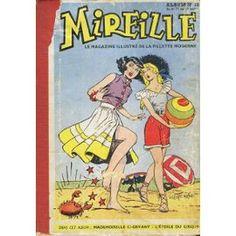 Album Mireille - Le Magazine Illustre De La Jeune Fille Moderne N° 10 : N°71 À 80 De 1955