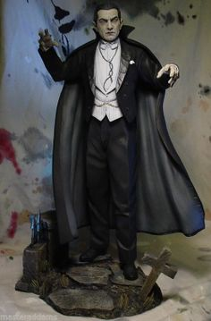 Gothic Horror, Horror Art, Horror Movies, Monster Toys, Monster Mash, Count Dracula, Famous Monsters, Classic Monsters, Ad Art