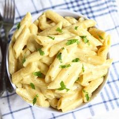 Creamy Garlic Butter Pasta. Comfort food at it's best!