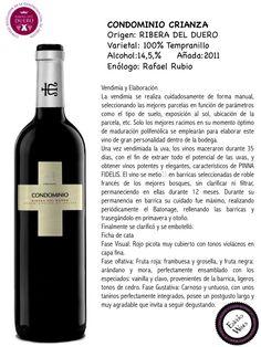 CONDOMINIO CRIANZA, ENVERO WINES, VINOS DE RIBERA DEL DUERO