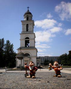 Chisinau, the capital of Moldova