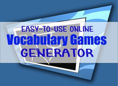 online vocabulary games generator