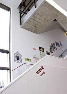 The only way is up: just in case employees get lost (Innocent Drinks) - London Evening Standard