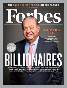 We have an interview with Carlos Slim, the worlds richest man, it's online now.