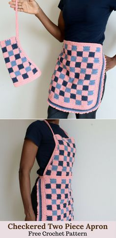 Crochet Apron for your kitchen and home. Made with 100% cotton yarn, this is a pretty crochet item you want to have in your home. Pattern has tutorials and a graph to guide in making yours. Try it!