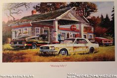 Mustang Sally's by Dale Klee