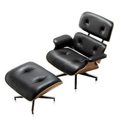 EAMES LOUNGE CHAIR AND OTTOMAN | Download Revit Furniture