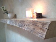 Live edge Floating Shelf Norfolk Island Pine