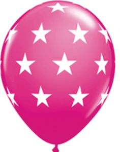 Checkout this amazing product Big Stars Wild Berry Balloons Festive