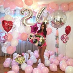 31 ideas birthday photoshoot with balloons photo backdrops Birthday Goals, 24th Birthday, Birthday Bash, Birthday Wishes, Birthday Parties, 21st Bday Ideas, Birthday Ideas, Birthday Photography, Birthday Balloons