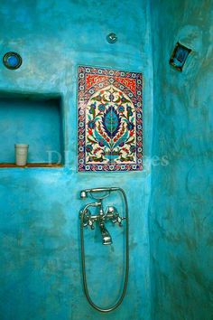 Bathroom, Morocco.