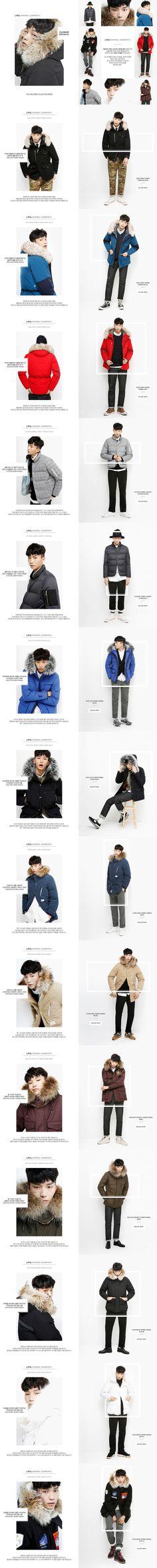 LIFUL MINIMAL GARMENTS  Korean domestic fashion brand. Brand reconstitution artwork