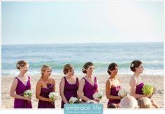 Malibu Beach Wedding Bridesmaids