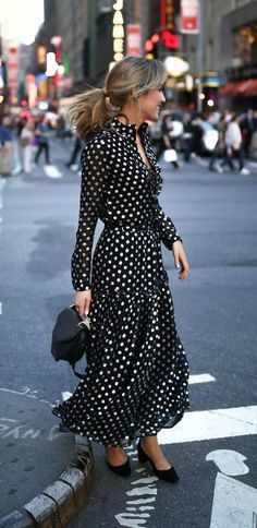 What to wear to a broadway show    Metallic black and silver polka dot lace 5610e55254