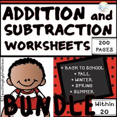 Addition And Subtraction Worksheets, Subtraction Activities, Math Activities, Multiplication Games, Teaching Resources, School Resources, Classroom Resources, Fact Families, 2nd Grade Math
