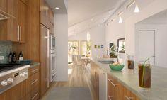 balance-metro-prefab-housee-blue-homes-kitchen - Design Milk