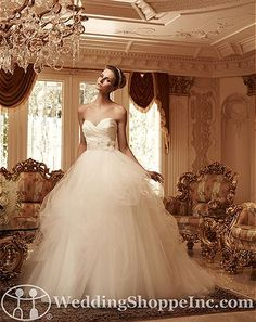 Casablanca 2103 Bridal Gown at The Wedding Shoppe today