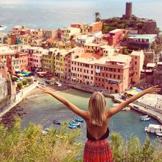 Pin for Later: 19 Snaps That Serve Up Ultimate Outfit Inspiration For Your Next Vacation Italian Riviera Pack open-back tops or dresses with plunging necklines for nights out in the city. You're going to want to look as romantic as you feel.