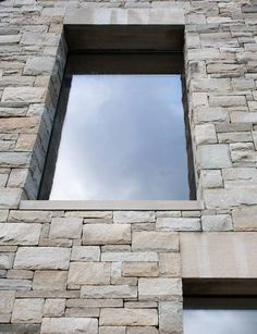 Stone reveal. House in Blacksod Bay by Tierney Haines Architects
