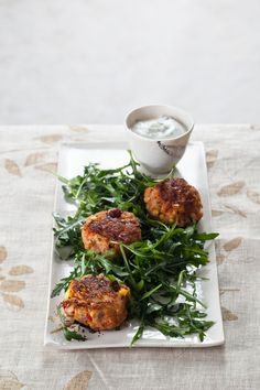 Clean Green Fuji Apple Crab Cakes Photo: Quentin Bacon