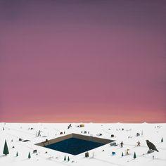 this isn't happiness™ (Winter landscapes, Lars Daniel Rehn), Peteski