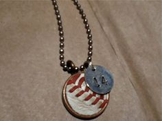 These are so great!  Perfect for baseball moms, fans, etc! Baseball Necklace by TwentyandBelow on Etsy, $12.00