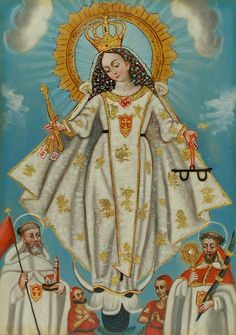 Our Lady ransoms us from the slavery of our sins, and brings us the grace of conversion.
