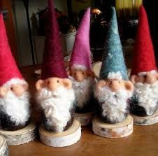 Image result for Christmas gnomes needle felted