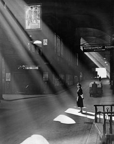Liverpool Street Station, London, 1952