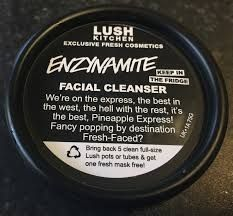 """Enzynamite Facial Cleanser: """"We're on the express, the best in the west, the hell with the rest, it's the best, Pineapple Express! Fancy popping by destination Fresh-Faced?"""
