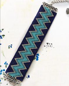 Peyote Beading Patterns, Peyote Stitch Patterns, Beaded Bracelet Patterns, Bead Loom Patterns, Loom Beading, Jewelry Patterns, Beaded Braclets, Bead Loom Bracelets, Beading Techniques