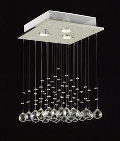 Fresh and New Lighting Fixtures: Modern Chandelier Rain Drop Lighting Crystal ~ Chandeliers Inspiration
