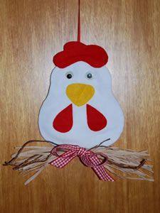 Hühner basteln