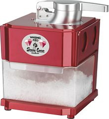 Snow cone maker... Yes, please