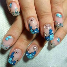 Spring Nail Art Cute Spring Nail Designs Ideas Learn something new and create unique spring nail designs in 2018 ❤️ Find the great nail art ideas for spring ❤️ Check out our gallery with more than images for your inspired ❤️ Our easy video tutori Pretty Nail Designs, Nail Designs Spring, Toe Nail Designs, Spring Nail Art, Spring Nails, Hot Nails, Hair And Nails, Finger Nail Art, Super Nails