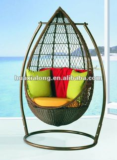 Outdoor Hanging Rattan Swing Egg Chair/hammock /baby Swing Chair - Buy Rattan Swing Chair,Egg Shaped Chair,Garden Swing Chair Product on Alibaba.com