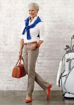 7c71ce2f6 30 Looks confortáveis para mulheres acima dos 50 anos