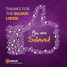 Thank you to all our Facebook fans who helped us reach 50,000 fans! On to the next 50,000! JOIN NOW!  http://www.solavei.com/SocialComJedi