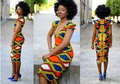 Un post rapide rapide pour vous présenter un très joli look de Fatou N'diaye. Par son sens qu'on dirait inné de la mode et une passion pour l'univers de la beauté, Fatou du blog Black Beauty Bag est devenue une bloggeuse mode et beauté très en vue en France dans le milieu afro et bien ... African Dresses For Women, African Wear, African Women, African Outfits, African Style, African Print Fashion, Africa Fashion, African Prints, Ghanaian Fashion