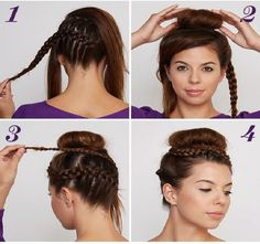 Step by Step Nails, Dresses, Make up, Hair Styles and more Tutorials - http://www.1pic4u.com/blog/2014/11/02/step-by-step-nails-dresses-make-up-hair-styles-and-more-tutorials-260/
