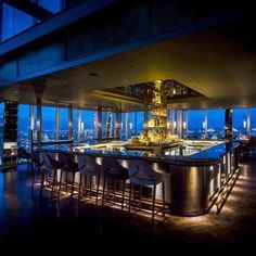 Atrium Bar is located on the 31st floor of the Shard. Open all day with no reservation needed, the bar carries a unique selection of organic ingredients that include botanical inspired cocktails using gin and tea. This bar is one of the highlights of the city and not to mention of the most optimal for view seekers. Not only is it in London's tallest building but its 360 degree panoramic views will leave you in awe of London's sight