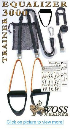 This simple exercise tool is rapidly appearing in every health club in the world. What is it that will quickly surpass the beloved balance ball-the TRX Suspension workout system. See the TRX posters. Training Kit, Strength Training Equipment, Home Workout Equipment, Strength Training Workouts, Trx Equipment, Fitness Equipment, Suspension Workout, Suspension Trainer, Outdoor Workouts