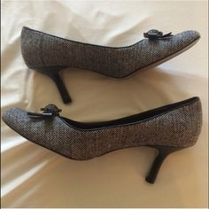 Madeline High Heels Madeline Black and white high heels, only worn once. Comes with original box. Madeline Shoes Heels