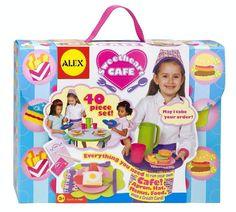 Pretend Play Kitchen, Pretend Food, Play Food, Cupcake Crafts, Waitress Apron, Alex Toys, Pop Up Restaurant, Toy Kitchen, Kitchen Sets