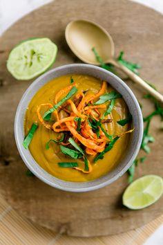 Süßkartoffel-Linsen-Suppe