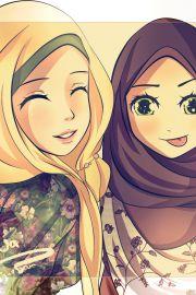 Muslim Manga and Anime Drawings - Drawings of Muslim Characters | IslamicArtDB.com | Page 4